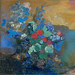 Odilon Redon – Ophelia among the Flowers, Part 5 National Gallery UK