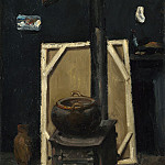The Stove in the Studio, Paul Cezanne