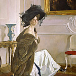 Valentin Serov - Portrait of Princess Olga Orlova