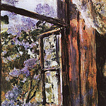 Valentin Serov - Open window. Lilac. 1886