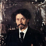 Portrait of the Artist Ilya Repin. 1892, Valentin Serov