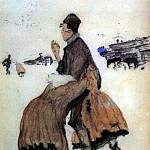 Recruit. 1906, Valentin Serov
