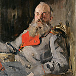 Portrait conducted. book. Mikhail Nikolayevich in the jacket. 1900, Valentin Serov