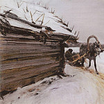 winter. 1898, Valentin Serov
