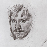 Self 1. 1887, Valentin Serov