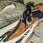 Abduction of Europe 1. 1910, Valentin Serov