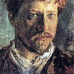 Self-portrait. 1880, Valentin Serov