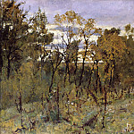 Autumn evening. Domotkanovo. 1886, Valentin Serov