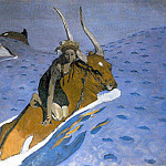 Valentin Serov - Abduction of Europe 4. 1910
