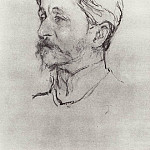 Portrait of the Artist MAVrubelja. 1907, Valentin Serov
