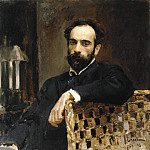 Portrait of the Artist Isaac Levitan. 1893, Valentin Serov