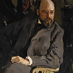Portrait of the artist Ostroukhov. 1,902, Valentin Serov