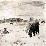 Valentin Serov - October. 1898