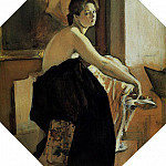 Valentin Serov - Model. 1905