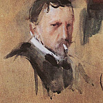 Self-portrait. 1901, Valentin Serov