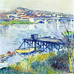 The Bridge at Argenteuil – 1893, Gustave Caillebotte