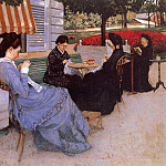 Portraits in the Countryside – 1876, Gustave Caillebotte