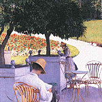 The Orange Trees – 1878, Gustave Caillebotte