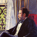 Portrait of a Man, Gustave Caillebotte