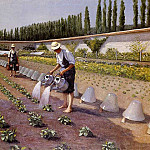 Gustave Caillebotte - The Gardeners - 1875 - 1877