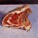 Rib of Beef – 1882, Gustave Caillebotte