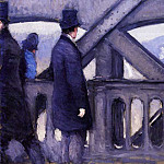 Gustave Caillebotte - The Pont de Europe (study) (also known as Port del Europe)