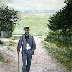 by the Sea – 1888 – 1894, Gustave Caillebotte