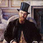 Portrait of Jules Dubois, Gustave Caillebotte
