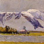 Гюстав Кайботт - Laundry Drying, Petit Gennevilliers - 1892