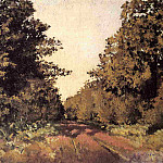 Yerres, Woods at la Grange, Path of the Great Ha-Ha, Gustave Caillebotte