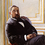 Portrait of Jules Richemont – 1879, Gustave Caillebotte