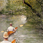 Gustave Caillebotte - Perissoires (also known as The Canoes) - 1878