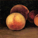Peaches, Nectarines and Apricots, Gustave Caillebotte