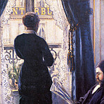 Гюстав Кайботт - Interior (also known as View across the Balcony) - 1880