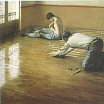 The Floor Scrapers – 1876, Gustave Caillebotte