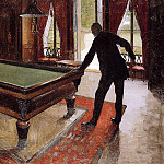 Gustave Caillebotte - Billiards (unfinished) - 1875 - 1876