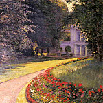 The Park at Yerres – 1877, Gustave Caillebotte