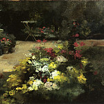 The Garden – 1878, Gustave Caillebotte