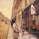 The House Painters – 1877, Gustave Caillebotte