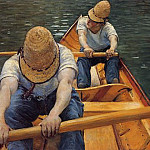Гюстав Кайботт - The Oarsmen - 1877