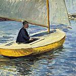 The Yellow Boat – 1891, Gustave Caillebotte