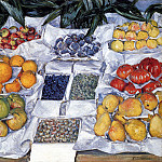 Gustave Caillebotte - Fruit Displayed On A Stand