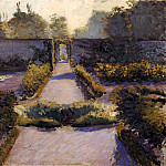 The Kitchen Garden Yerres, Gustave Caillebotte