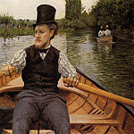 Gustave Caillebotte - Boating Party - 1877