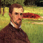 Self-Portrait in the Park at Yerres, Gustave Caillebotte