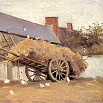 Loaded Haycart – 1874 – 1878, Gustave Caillebotte