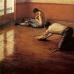 The floor scrapers , Gustave Caillebotte