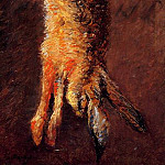 Hare – 1882, Gustave Caillebotte