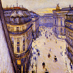 Rue Halevy Seen from the Sixth Floor, Gustave Caillebotte