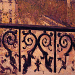 Gustave Caillebotte - A Balcony in Paris - 1880 - 1881